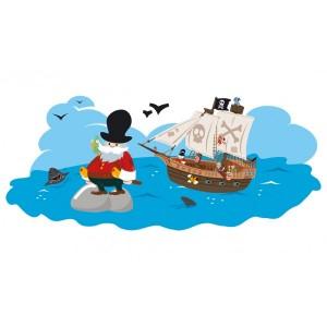 chasse au trésor pour les pirates